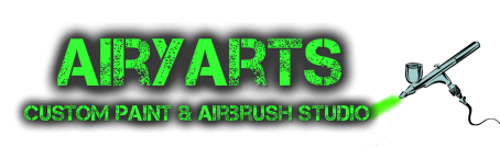 Airyarts Airbrush Studio, Custom Paint in Dorset